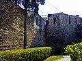 Kalaja në qytetin e Durrësit- muri rrethues 01.jpg