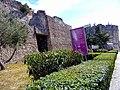Kalaja në qytetin e Durrësit- muri rrethues 05.jpg