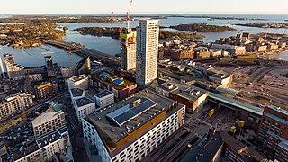 Kalasatama Helsinki Subdivision in Uusimaa, Finland