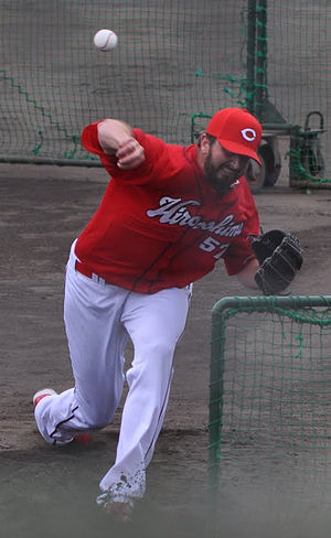 Kam Mickolio - Mickolio with the Hiroshima Toyo Carp