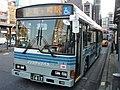 Kanto Railway Bus 9393RG at Toride Station.jpg