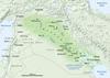 Ti mapa a mangipakpakita ti Mesopotamia