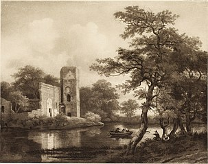 Landscape with a Ruined Castle
