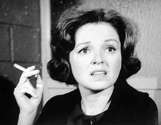 """East Side/West Side - Kathleen Maguire in """"The $5.98 Dress"""", 1963."""