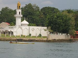 Islam in the Philippines - Mosque in Isabela City.
