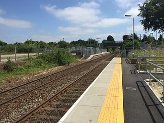 Kennett railway station - Kennett Railway Station in June 2016