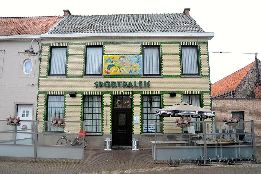 "Café ""Sportpaleis"", Kerkplein 6, Zingem"
