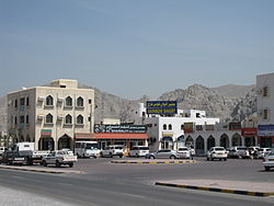 Central square of Khasab