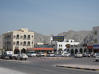 Town in Musandam Governorate, Oman