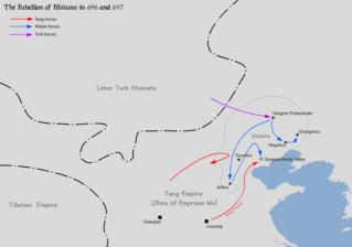 Li Jinzhong Khitan ruler