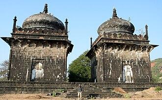 Khokari Tombs - The smaller two tombs