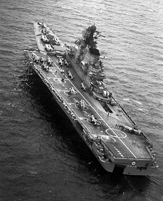 Aircraft cruiser - Image: Kiev 1985 DN SN 86 00684r