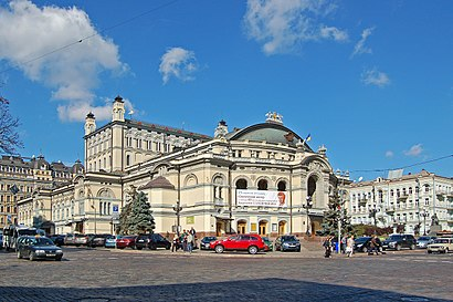 How to get to Національна опера України with public transit - About the place