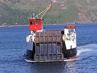 MV Loch Linnhe - Image: Kilchoan to Tobermory Ferry geograph.org.uk 354337