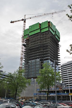 Kinects - Under construction in April 2016