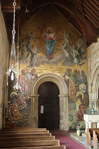 Kirby Grindalythe - Image: Kirby Grindalythe Church Interior 1 Sept 2010 (Nigel Coates)