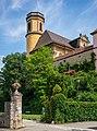 Kirchberg an der Jagst - Altstadt - Stadtkirche - Ansicht von Süden.jpg