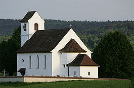 The church of Saint-Martin at Roggenburg
