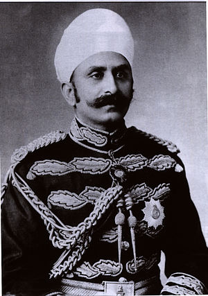 Maharaja Sir Kishen Pershad - Image: Kishen Pershad ca 1915