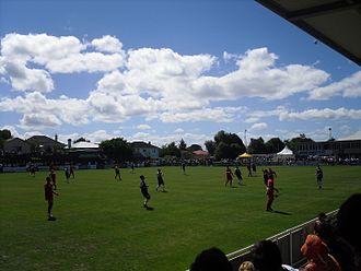 Auckland City FC - Kiwitea Street in 2011
