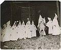 Klansmen at initiation ceremony at Wilson Station, Renton, July 14, 1923 (MOHAI 15424).jpg
