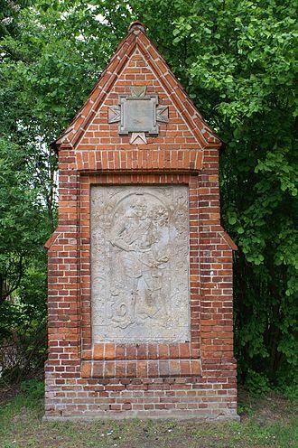 Commandry of Nemerow - Tombstone of commander Ludwig von der Groeben