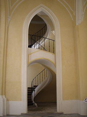 Sedlec Abbey - Image: Kloster Sedletz Treppenaufgang