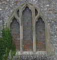 Knights Templar Chapel - East Window - Brimpton - geograph.org.uk - 1513222.jpg