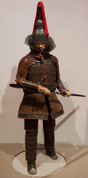 Three Kingdoms of Korea - A Gaya soldier.