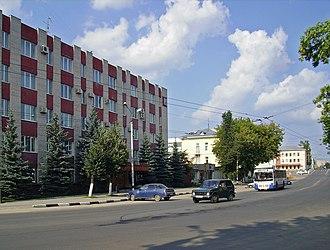 Vladimir Oblast - Image: Kovrov. Sotsialisticheskaya & Sosnovaya Streets crossing