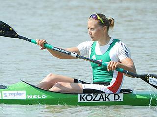 Danuta Kozák Hungarian kayaker