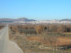 Η νότια άποψη της Κοζάνης.