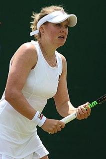 Kateryna Kozlova Ukrainian tennis player