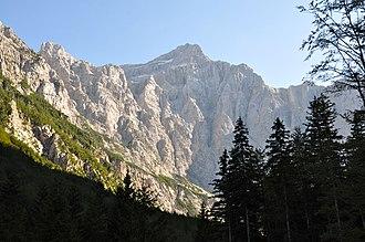 Municipality of Kranjska Gora - Image: Kranjska Gora Mojstrana Vrata Triglav Nordwand 2011 08 26 777