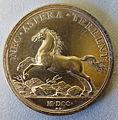 Kurfurst Georg Ludwig von Braunschweig-Luneburg, medal by Raimund Falz, 1700 - Bode-Museum - DSC02782.JPG
