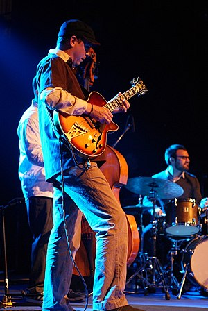 Kurt Rosenwinkel - Rosenwinkel performing in April 2010
