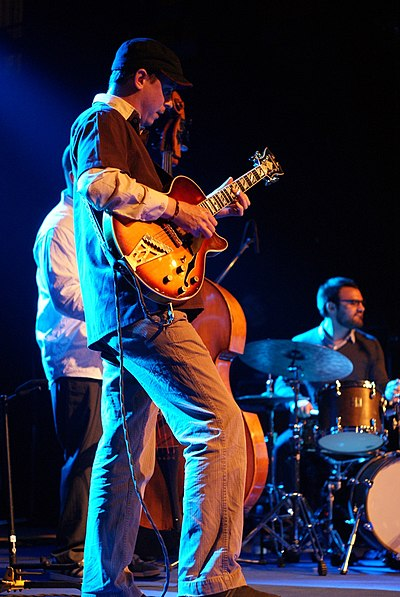 Picture of a band or musician: Kurt Rosenwinkel