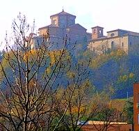 L'Abbazia di Santa Maria del Monte vista dall'Ospedale