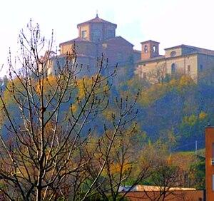 Abbey of St Maria del Monte - Image: L'Abbazia di Santa Maria del Monte vista dall'Ospedale