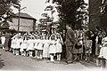 Lányok alkalmi ruhában 1947, Budapest. Fortepan 92616.jpg