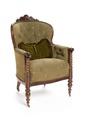 Länstol på hjul, 1840 - Hallwylska museet - 108467.tif
