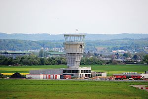 Beauvais–Tillé Airport - New control tower under construction