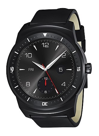 LG G Watch R - Image: LG G Watch R