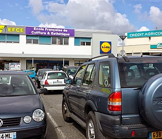 Lidl - A Lidl store in Angers, France