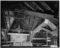 LOFT, ROOF STRUCTURE - Fort Sheridan, Quartermaster Stable, Lyster Road, Lake Forest, Lake County, IL HABS ILL,49-FTSH,1-12-7.tif
