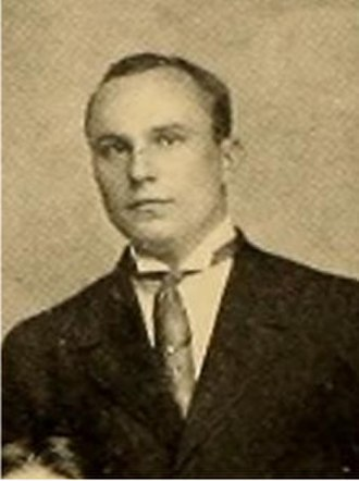 L. W. Riess - Riess cropped from the 1909 Hampden–Sydney football team photo