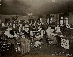 L&N Station (New Orleans) - Image: L N RR NOLA Billing 1917