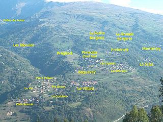 La Côte-dAime Part of La Plagne-Tarentaise in Auvergne-Rhône-Alpes, France