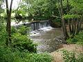 La Teysonne à Teysonne (Briennon), barrage.JPG