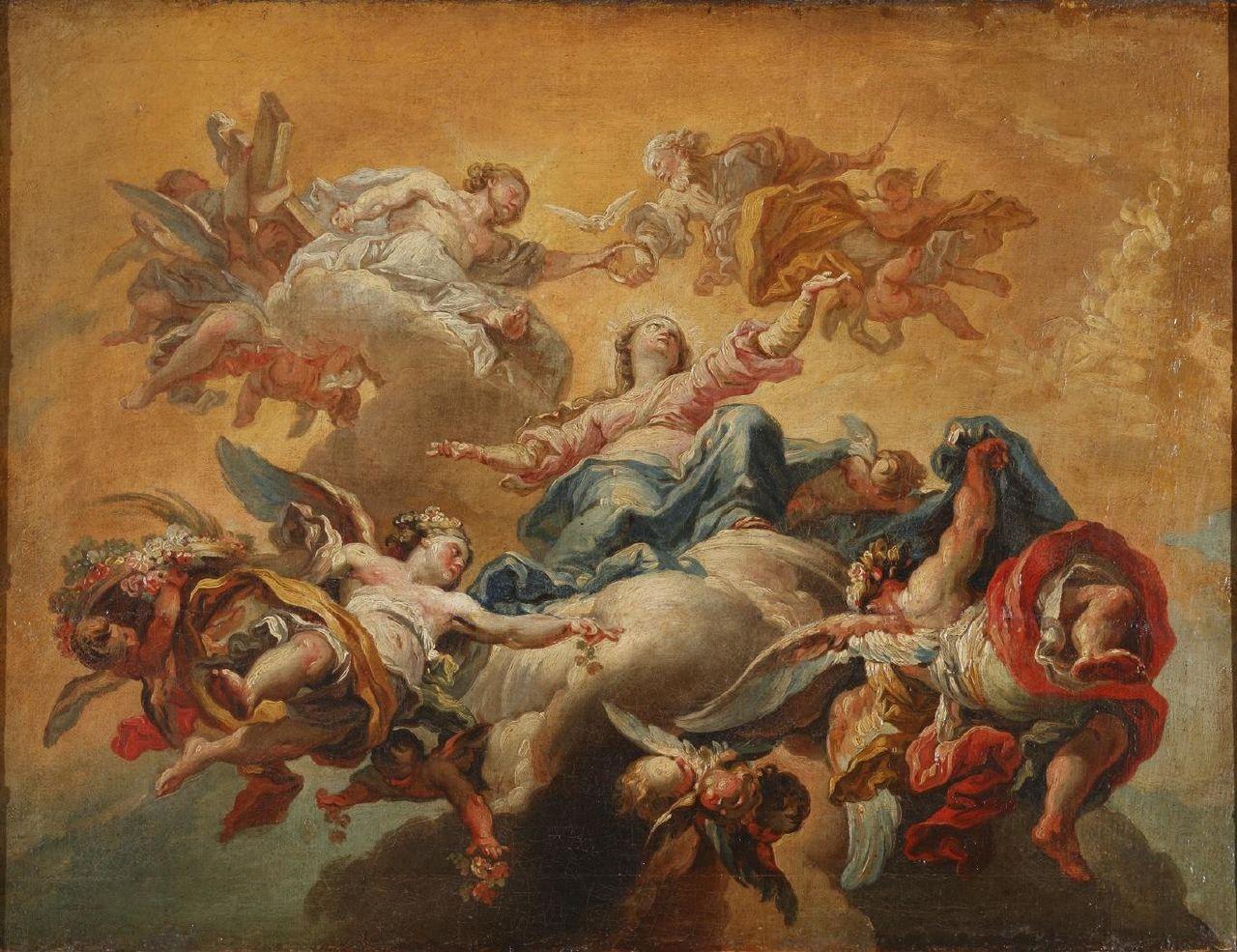 La coronaciуn de la Virgen (Museo Lбzaro Galdiano).JPG